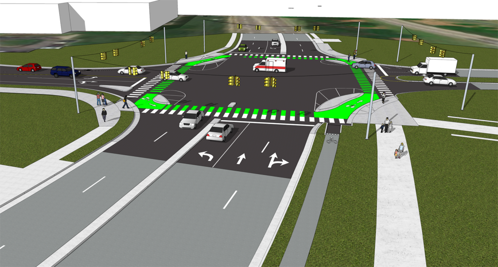 bicycle and pedestrian improvements