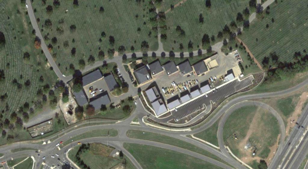 Arlington Cemetary Maintenance Yard