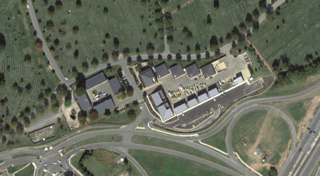 Arlington Cemetery Maintenance Yard